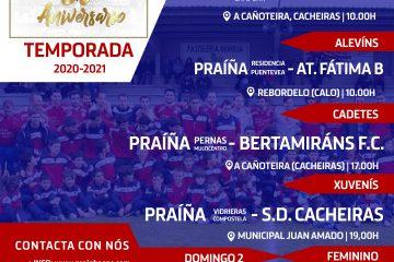 Xornada PSC PRaíña Sporting Club de Teo 1 de mayo