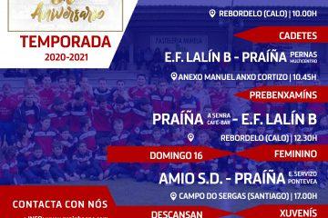A Xornada PSC Praíña Sporting Club de Teo 16 de maio de 2021